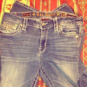 Size 30 rock revival women's skinny jeans